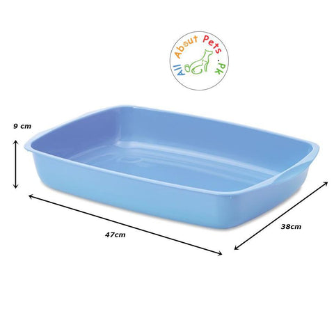 Cat Litter Tray Large available at allaboutpets.pk in Pakistan