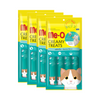 Meo Creamy Treats Bonito Flavor 15 g. (4 pcs./Pack) available at allaboutpets.pk  in Pakistan