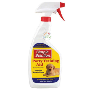 Puppy Potty Training Aid spray available in Pakistan at allaboutpets.pk