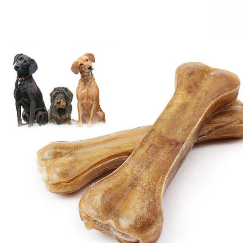 Nunbell raw hide Dog Dental Chew Bones, dog chew toy available at allaboutpets.pk in pakistan.