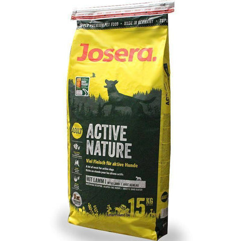 Josera Active Nature Dog Food 15kg available in pakistan at allaboutpets.pk