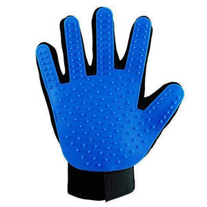 Pet Grooming Glove Blue, cat grooming glove, dog grooming glove available at allaboutpets.pk in pakistan.