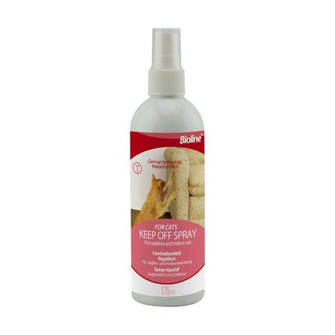 Bioline Keep Off Spray for Cats available at allaboutpets.pk