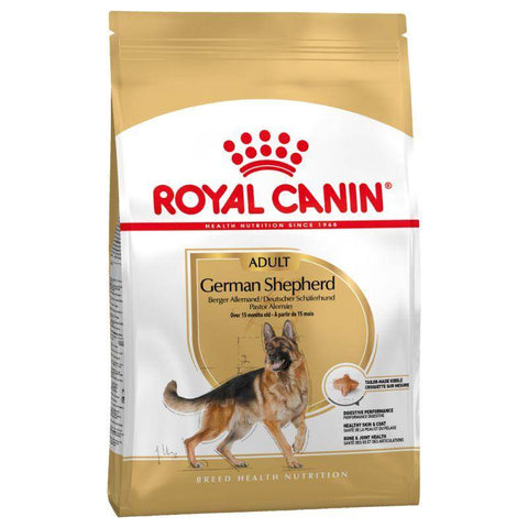 Royal Canin - German Shepherd Adult Dry Dog 3kg and 11kg available at allaboutpets.pk in pakistan.