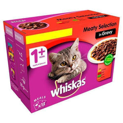 Whiskas Meaty Selection In Gravy 100g available online at allaboutpets.pk