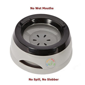Pet Water Bowl No Slobber No Spill for cats and dogs available at allaboutpets.pk in Pakistan