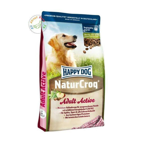 Happy Dog Naturcroq Active High Energy Level 15 kg available in Pakistan at allaboutpets.pk