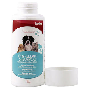 Bioline Dry-Clean Shampoo available at allaboutpets.pk