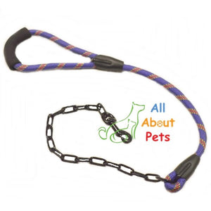 Bomei dog leash, Rope + Chain dog leash available at allaboutpets.pk