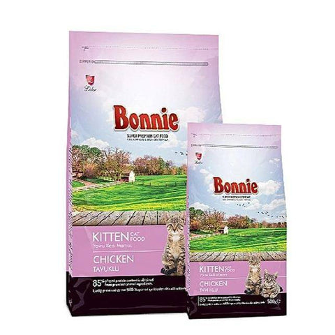 Bonnie Kitten Food Chicken, 500g, 1.5kg available at  allaboutpets.pk in pakistan.