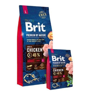 Brit Premium By Nature Adult Large For Dogs, dog food available at allaboutpets.pk in pakistan.