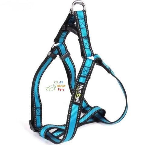 Nunbell Reflective Dog Harness, nylon dog harness available at allaboutpets.pk in pakistan.