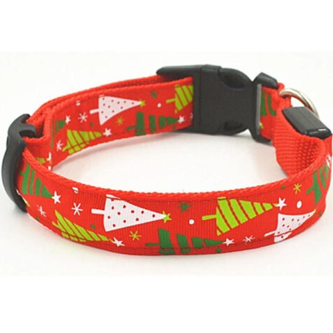 Christmas LED Pet Collars for dogs & cats available at allaboutpets.pk in pakistan