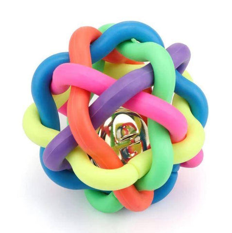 Colorful Plastic Chew Balls Toy For Dogs & Cats