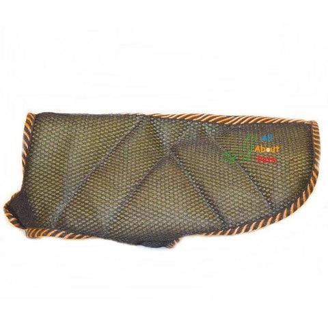 Image of Dog Coat Soft Padding Black Mesh with soft and warm padding material available at allaboutpets.pk in pakistan
