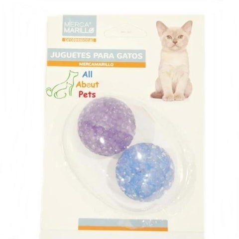 Cat Toy Crystal Ball With Bell Inside available at allaboutpets.pk