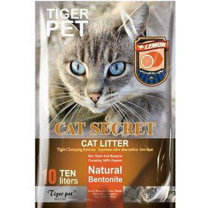 Tiger Pet Cat Secret Cat Litter Multi Scented 10L available at allaboutpets.pk in pakistan.