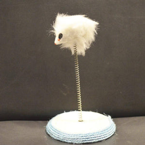 Cat Toy Fake Mouse on Spring Pole, cat play toy available at allaboutpets.pk in pakistan.