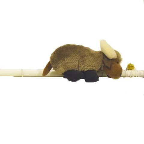 Image of Interactive Cat Teaser Toy Yak Play Stick with string attached available at allaboutpets.pk in pakistan.