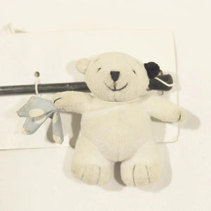Interactive Cat Teaser Toy polar bear Play Stick with string attached available at allaboutpets.pk in pakistan.