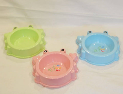 Crab Shape Feeding Bowl for cats and dogs available at allaboutpets.pk in pakistan.
