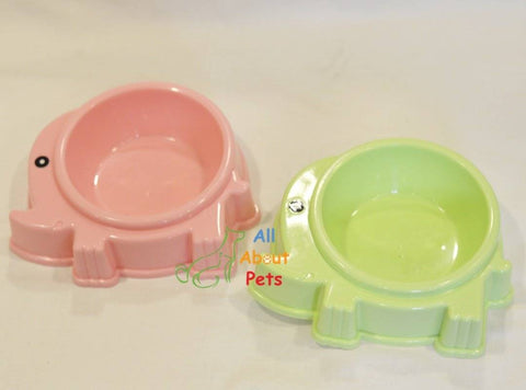 Feeding Bowl Elephant Shaped For Dogs, pet feeding bowl elephant shape green color available at allaboutpets.pk in pakistan.