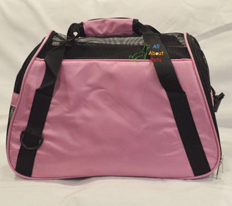 Pet Carrier Bag Pink color, pink bag, bird carry bag available online at allaboutpets.pk in pakistan.