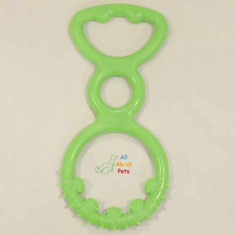 Puppy Long Teether toy green colors available at allaboutpets.pk in pakistan.