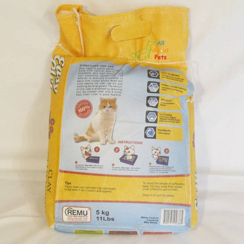 Image of Remu Easy Clean Cat Litter 5L available online for home delivery at allaboutpets.pk in pakistan.