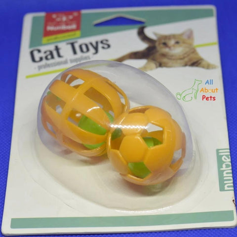 Nunbell Cat Toy Ball With Bell Inside available at allaboutpets.pk in pakistan.