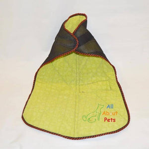 Dog clothes, jacket, coat with Soft Padding Black Mesh with soft and warm padding material available at allaboutpets.pk in pakistan