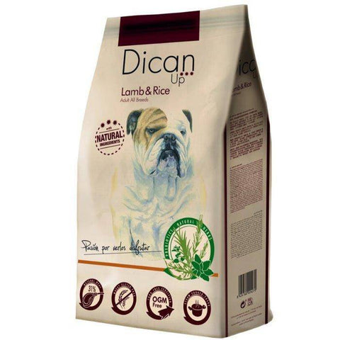 Dibaq Dican Up Lamb & Rice, dog food 3kg, 14kg available at allaboutpets.pk in pakistan.