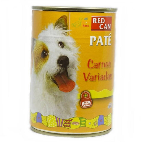Dibaq Red Can Pate Wet Food Mixed Meat 400g, dog wet food available at allaboutpets.pk in pakistan.