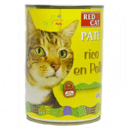 Dibaq Red Cat Pate Wet Food Chicken 400g available at allaboutpets.pk in pakistan.