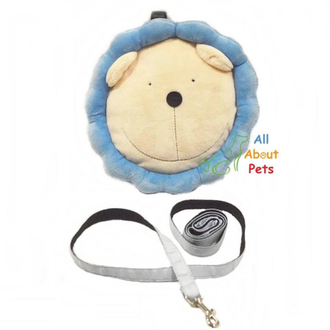 Dog food Bag With Leash, bear shaped bag, bear face bag, pet treat carry bag available at allaboutpets.pk in pakistan.