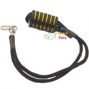 Double Rope Nylon Leash For Large Dogs with soft grip and hook available at allaboutpets.pk in pakistan.