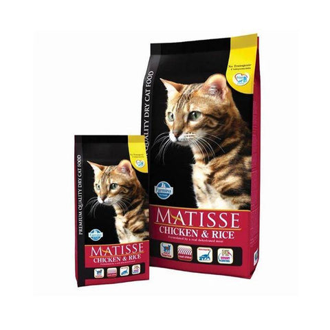 Farmina Matisse Chicken & Rice, 400g, cat dry food 1.5kg, cat food 10kg available at allaboutpets.pk in pakistan.