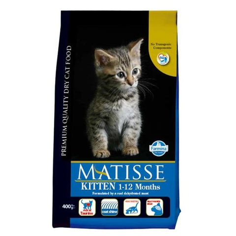 Image of Farmina Matisse Kitten food, 400g, 1.5kg, 10kg available at allaboutpets.pk in pakistan.