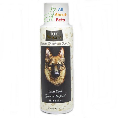 Fur Magic german shepherd Special dog shampoo available online at allaboutpets.pk in pakistan.