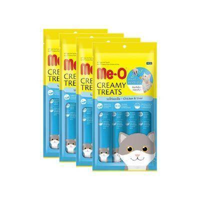 Meo Creamy Treats Chicken & Liver 15 g available at allaboutpets.pk