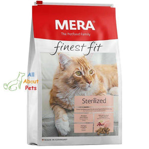 Mera Finest Fit Sterilized Cat Food available online at allaboutpets.pk in pakistan.