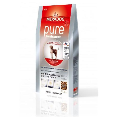 MERA Pure Chicken & Potatoes Adult Dog Food available at allaboutpets.pk in pakistan.