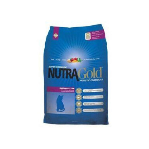 Image of NutraGold Holistic Indoor Kitten Dry Food - 1KG