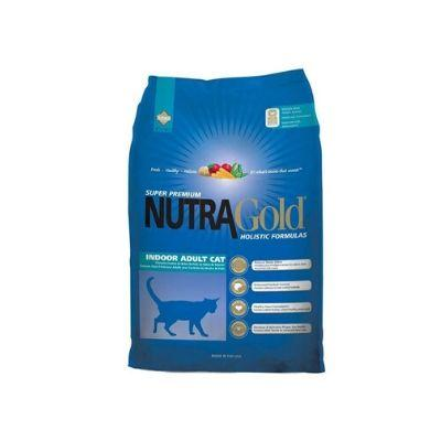 Image of NutraGold Holistic Indoor Adult Cat Dry Food