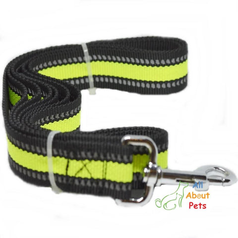 Image of Nunbell Nylon Reflective Nylon Leash For Dogs 6ft available at allaboutpets.pk in pakistan.
