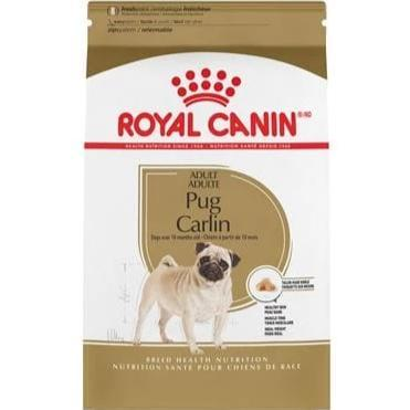 Royal Canin Pug Adult Dry Dog Food available at allaboutpets.pk in pakistan.