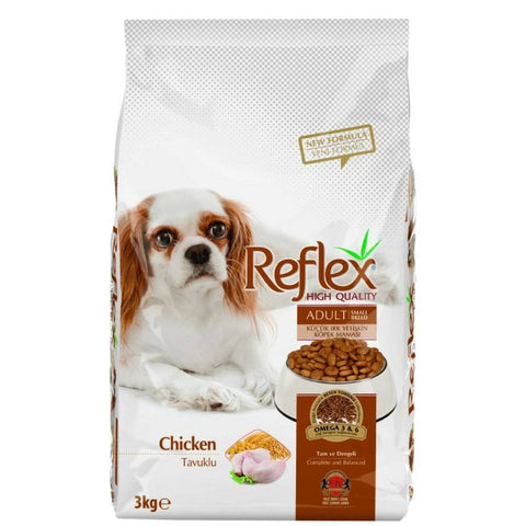 Reflex Adult Dog Food Small Breed Chicken - 3 KG available at allaboutpets.pk in pakistan.