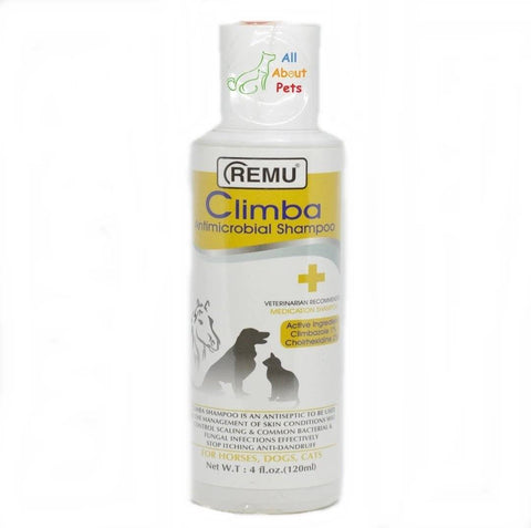 Image of Remu Climba Antimicrobial Shampoo For Dogs available online at allaboutpets.pk in pakistan.