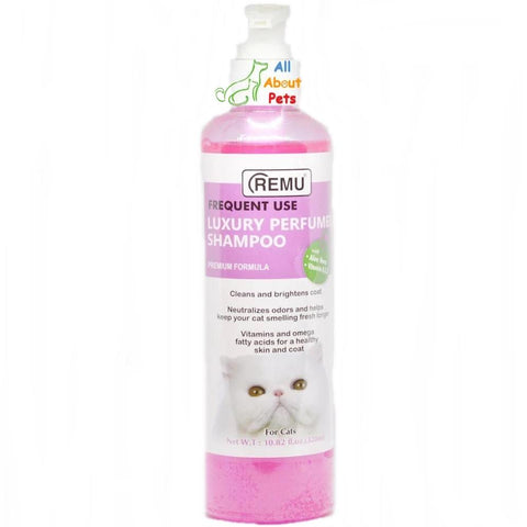 Image of Remu Kitten Luxury Perfumed shampoo, Persian cat shampoo 320ml available online at allaboutpets.pk in pakistan.