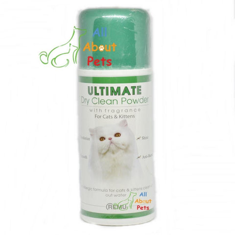 Remu Royal Dry Clean Powder For Cats, Persian cat shampoo available online at allaboutpets.pk in pakistan.